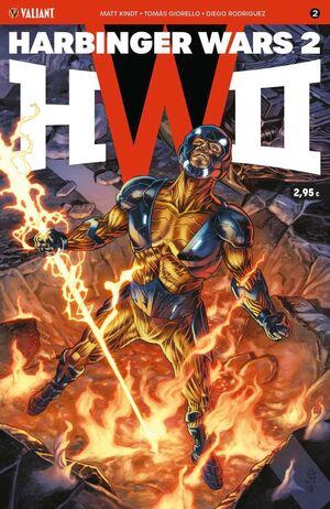 HARBINGER WARS 2 #02 (GRAPA)