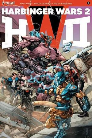HARBINGER WARS 2 #04 (GRAPA)