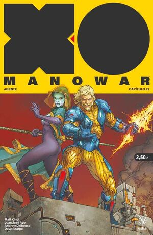 XO MANOWAR #22
