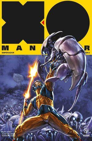 XO MANOWAR VOL. 03 EMPERADOR (TOMO RECOPILATORIO)