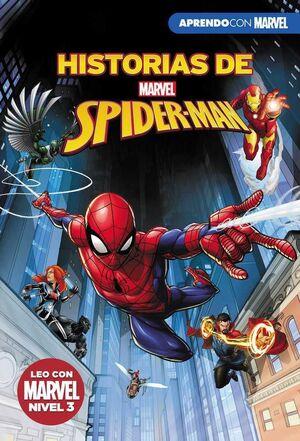 HISTORIAS DE SPIDER-MAN. APRENDO CON MARVEL: LEO CON MARVEL - NIVEL 3
