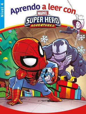 APRENDE A LEER CON... SUPERHERO ADVENTURES NIVEL 4 MARVEL