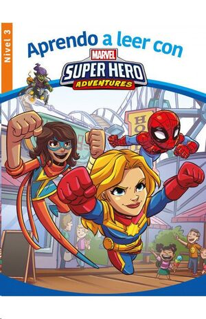 APRENDO A LEER CON MARVEL SUPER HERO ADVENTURES (NIVEL 3)