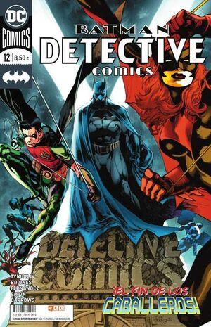 BATMAN: DETECTIVE COMICS #12 UNIVERSO DC RENACIMIENTO