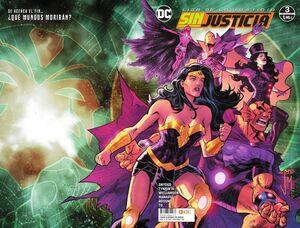 LIGA DE LA JUSTICIA: SIN JUSTICIA #03
