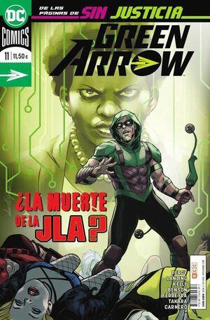 GREEN ARROW VOL.2 #11 LA MUERTE DE LA JLA? (ECC)