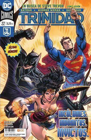 BATMAN / WONDER WOMAN / SUPERMAN: TRINIDAD. RENACIMIENTO #22