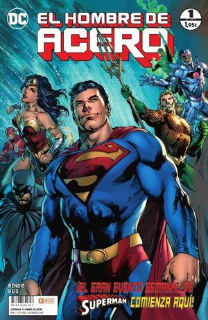 SUPERMAN EL HOMBRE DE ACERO #001 (GRAPA)