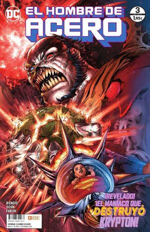 SUPERMAN EL HOMBRE DE ACERO #003 (GRAPA)