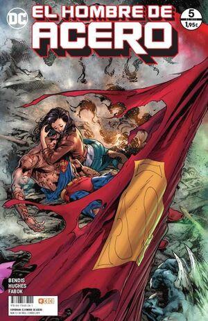 SUPERMAN EL HOMBRE DE ACERO #005 (GRAPA)