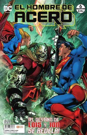 SUPERMAN EL HOMBRE DE ACERO #006 (GRAPA)