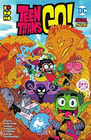 TEEN TITANS GO! VOL. 01. FIESTA FIESTA! (RTCA ECC)