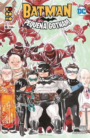 BATMAN: PEQUEÑA GOTHAM #06 (GRAPA ECC)
