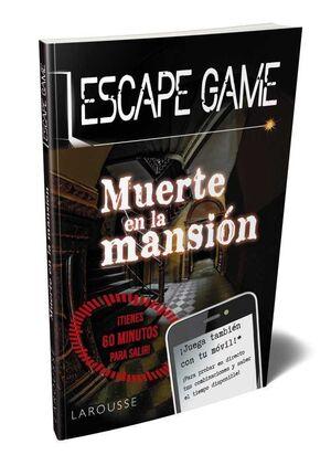 ESCAPE GAME. MUERTE EN LA MANSION
