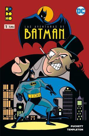 LAS AVENTURAS DE BATMAN #01 (KODOMO)