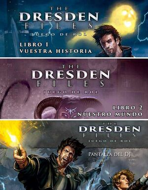 THE DRESDEN FILES PACK