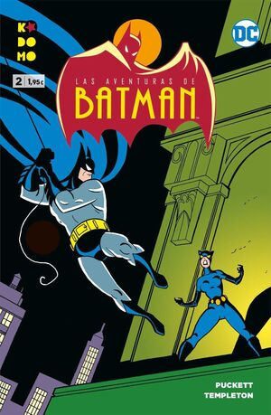 LAS AVENTURAS DE BATMAN #02 (KODOMO)