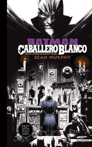 BATMAN: CABALLERO BLANCO. EDICION LIMITADA DC BLACK LABEL EN BLANCO Y NEGRO