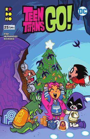 TEEN TITANS GO! #25 (GRAPA ECC)