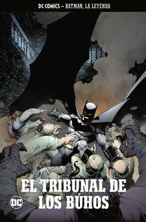 COLECCIONABLE BATMAN LA LEYENDA #04 EL TRIBUNAL DE LOS BUHOS