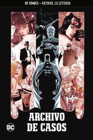 COLECCIONABLE BATMAN LA LEYENDA #13 ARCHIVO DE CASOS
