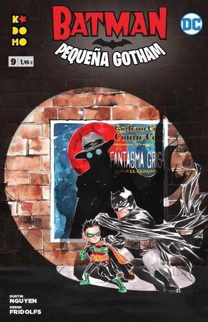 BATMAN: PEQUEÑA GOTHAM #09 (GRAPA ECC)