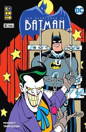 LAS AVENTURAS DE BATMAN #03 (KODOMO)