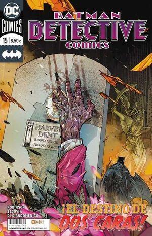 BATMAN: DETECTIVE COMICS #15 UNIVERSO DC. EL DESTINO DE DOS CARAS!