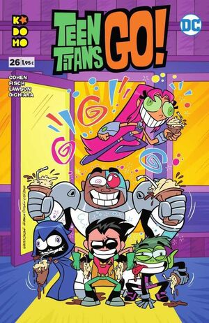 TEEN TITANS GO! #26 (GRAPA ECC)