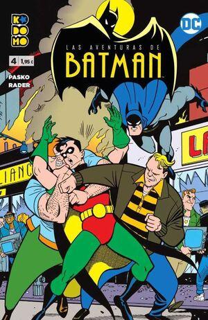 LAS AVENTURAS DE BATMAN #04 (KODOMO)