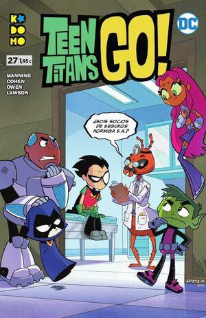 TEEN TITANS GO! #27 (GRAPA ECC)