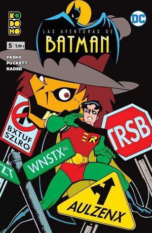 LAS AVENTURAS DE BATMAN #05 (KODOMO)