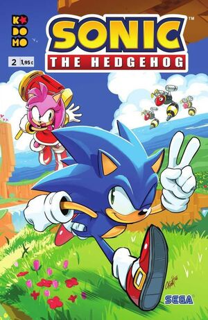 SONIC THE HEDGEHOG #02 (GRAPA - ECC)