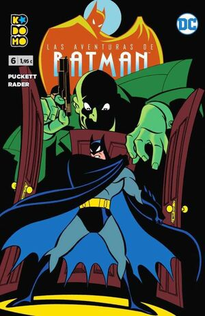 LAS AVENTURAS DE BATMAN #06 (KODOMO)