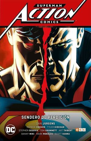 SUPERMAN: ACTION COMICS VOL. 1. SENDEROS DE PERDICION (CARTONE)