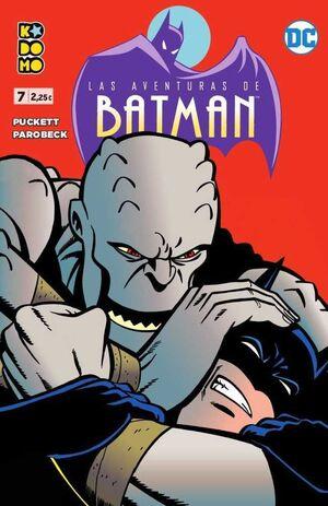LAS AVENTURAS DE BATMAN #07 (KODOMO)