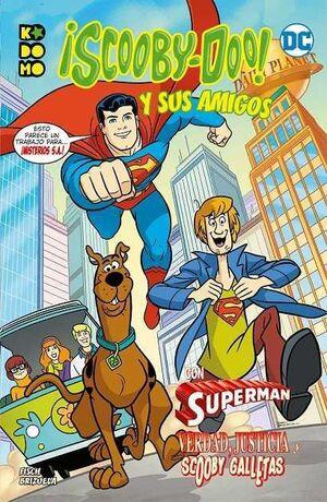 SCOOBY-DOO Y SUS AMIGOS #03 VERDAD JUSTICIA Y SCOOBY-GALLETAS (RTCA ECC)