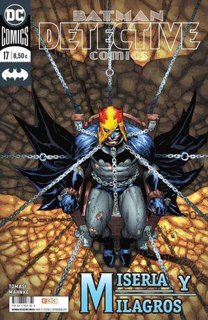 BATMAN: DETECTIVE COMICS #17 UNIVERSO DC. MISERIA Y MILAGROS
