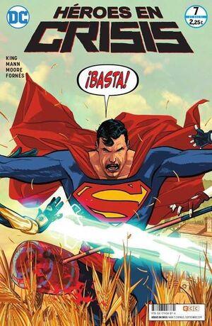 HEROES EN CRISIS #07. BASTA!