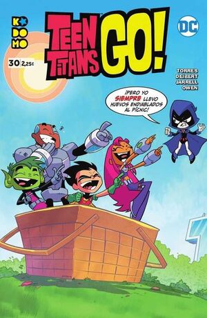 TEEN TITANS GO! #30 (GRAPA ECC)