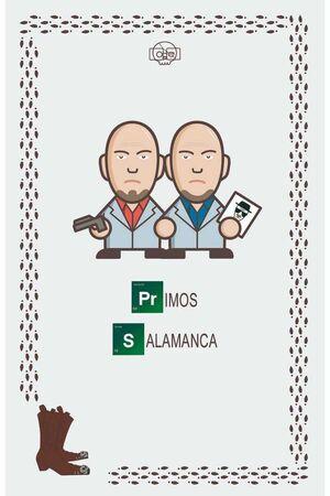 BREAKING BAD LIBRETA LOS PRIMOS SALAMANCA