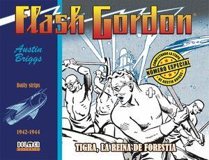 FLASH GORDON. TIGRA, LA REINA DE FORESTIA 1942-1944