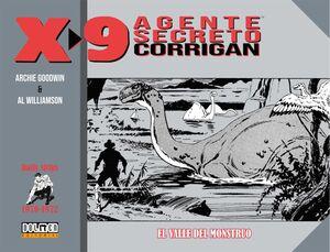 AGENTE SECRETO X-9. EL VALLE DEL MONSTRUO 1970-1972