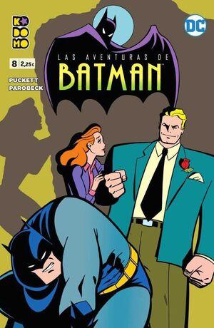 LAS AVENTURAS DE BATMAN #08 (KODOMO)