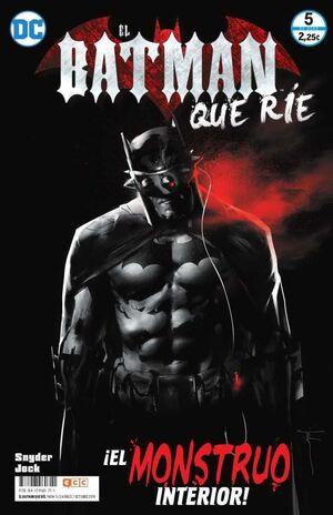 EL BATMAN QUE RIE #05. EL MONSTRUO INTERIOR!
