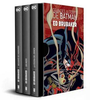ESTUCHE GRANDES AUTORES DE BATMAN: ED BRUBAKER