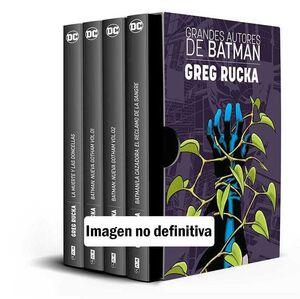 ESTUCHE GRANDES AUTORES DE BATMAN: GREG RUCKA