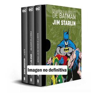 ESTUCHE GRANDES AUTORES DE BATMAN: JIM STARLIN / JIM APARO / B WRIGHTSON