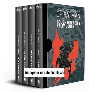 ESTUCHE GRANDES AUTORES DE BATMAN: DOUGH MOENCH / KELLEY JONES