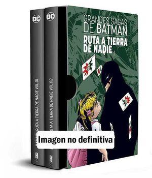 ESTUCHE GRANDES SAGAS DE BATMAN: BATMAN. RUTA A TIERRA DE NADIE VOL. 1 Y 2